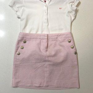 Jcrew seersucker mini skirt